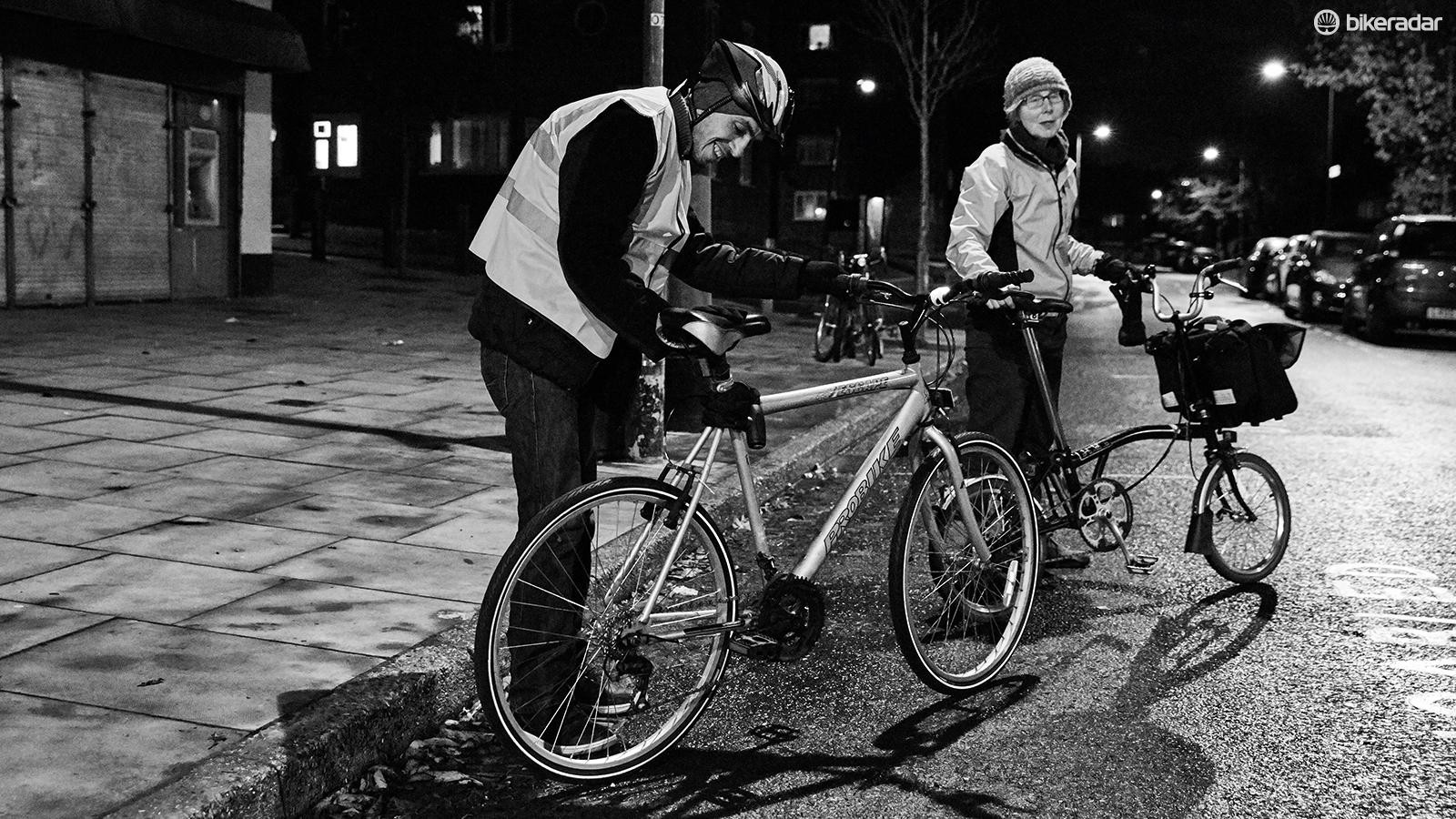The Bike Project also provides helmets, high-vis jackets, locks, lights, maps and gloves