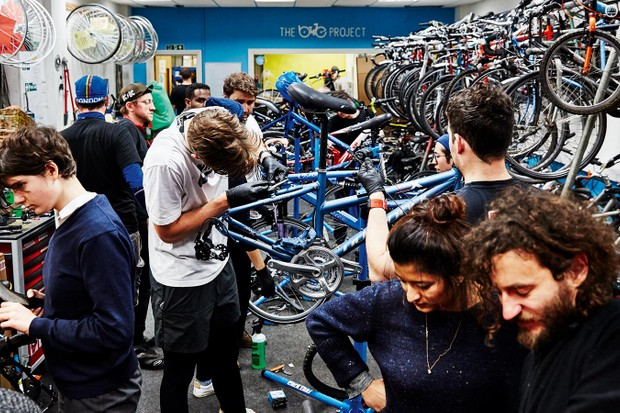 Refugees save £1,000 a year thanks to the good work of The Bike Project