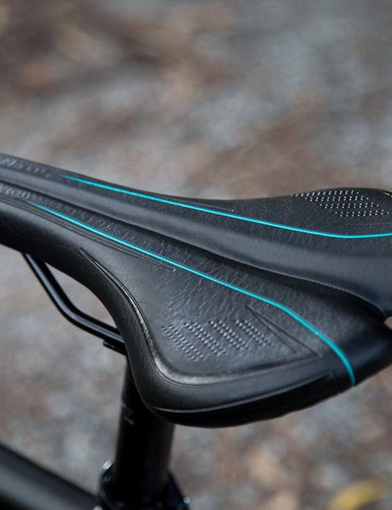 We would have like to see a saddle with a bit less padding