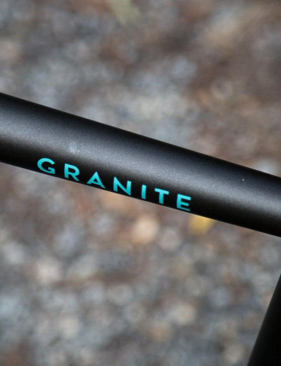 Subtle hydroforming throughout the frame adds stiffness where it's needed