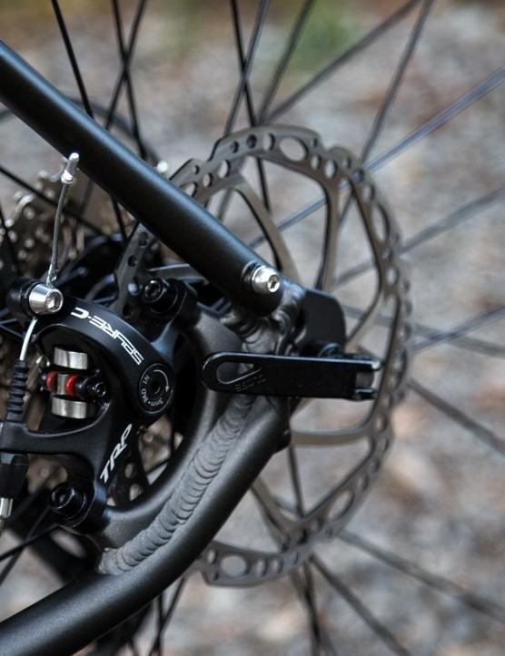 The TRP Spyre brakes performed well in every situation we threw their way