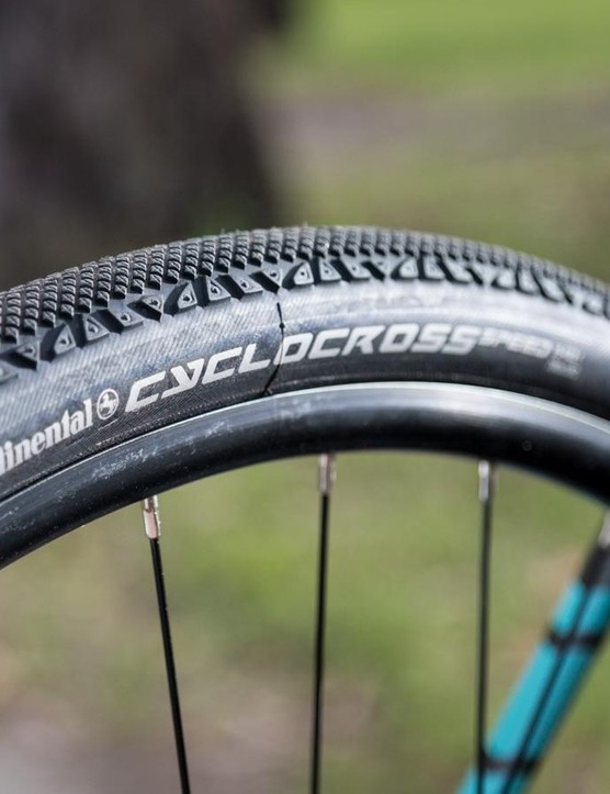 File tread rubber is great for gravel grinding as the minimal knobs don't add too much rolling resistance but offer some purchase on variable unsealed road surfaces