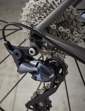 Our Reilly had the latest Shimano Ultegra groupset