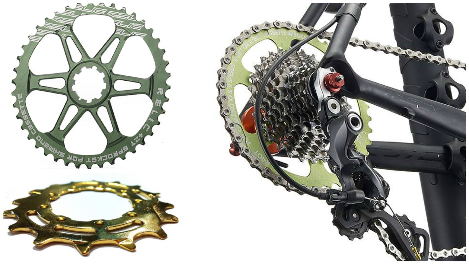 Relic MTB has launched a cassette expander for the road at this year's Taipei Bike Show