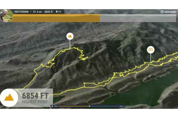 Relive uses GPS data and satellite images to create a virtual version of your rides