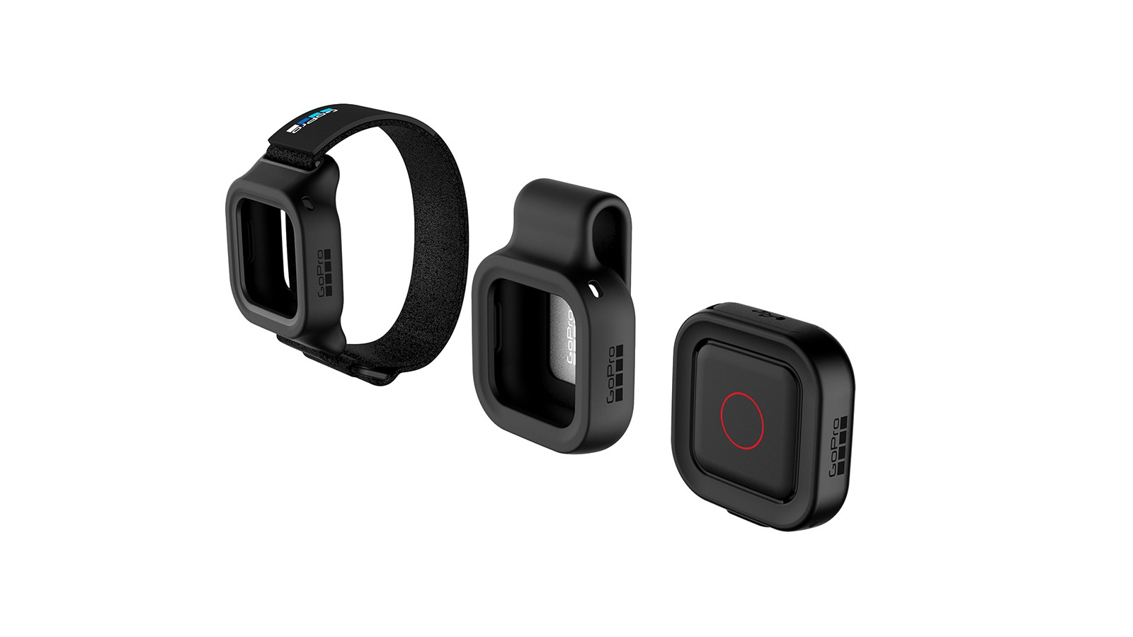 The Remo comes with housings to clip onto clothing or wear on your wrist
