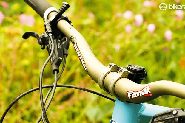 Renthal's Fatbar 35 and Apex 35 stem