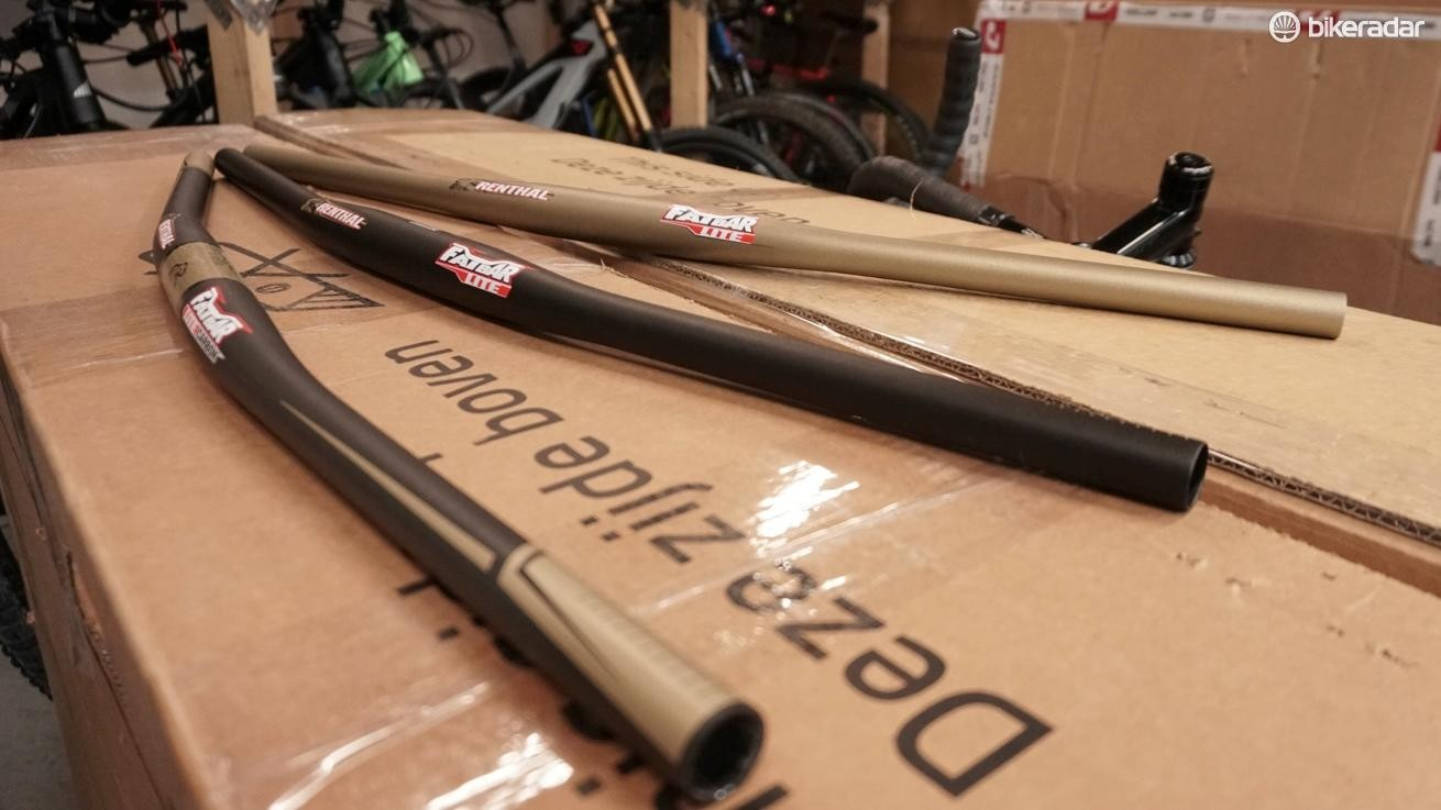 They're designed to give the same ride feel as Renthal's riser bars