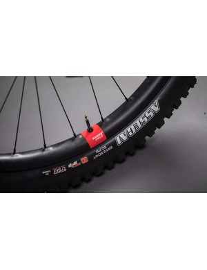 The new Reserve rim is DH-specific