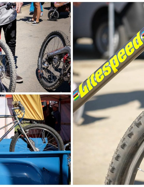 It's not just the latest bikes and components that show up at Sea Otter