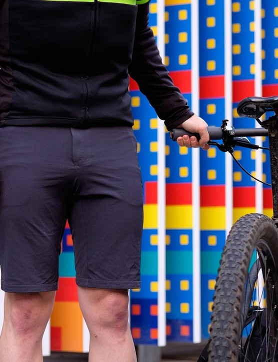 Kitsbow Adjustable A/M shorts are insanely comfortable, on and off the bike