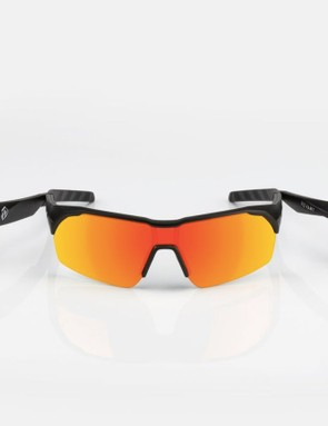 Revant offers five lenses choices including this Fire Red polarized option