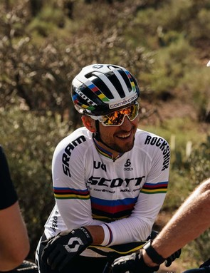 Current cross-country World Champ Nino Schurter has been a fan of the wireless AXS system since he was first shown prototypes and raced on the drivetrain during the 2018 season