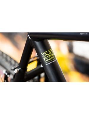 The Cross 0's matt black Strongman 7005 aluminium alloy frame
