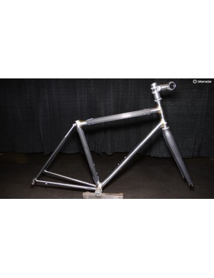 Sacramento's own, Steve Rex, won Best Fillet bike for his steel and carbon road bike