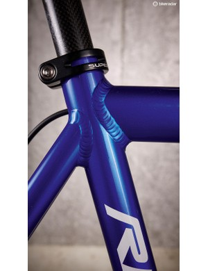 Chunky welds highlight the fact the Ribble is about function over form