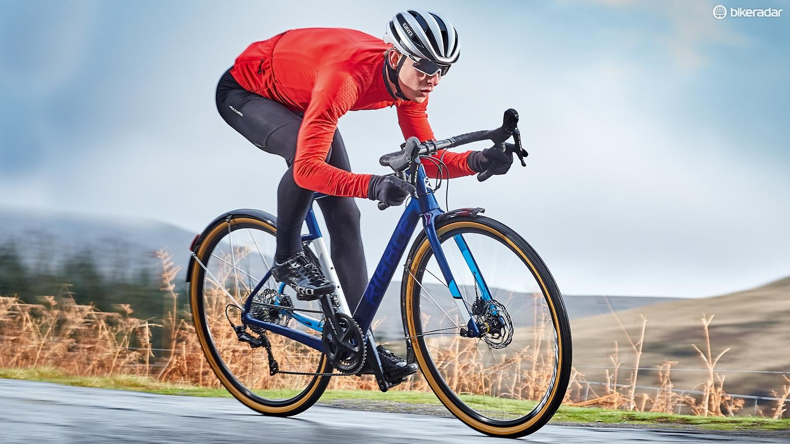 The Ribble delivers a great ride. It's impressive how smooth it felt
