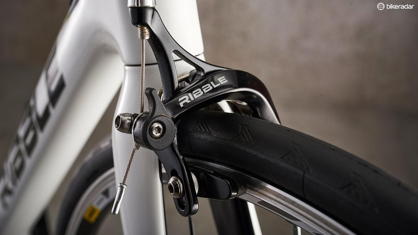 Ribble provides the brakes too, dual-pivot options