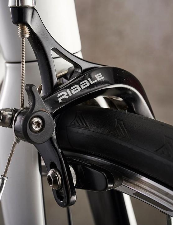 Ribble provides the brakes too, dual-pivot options