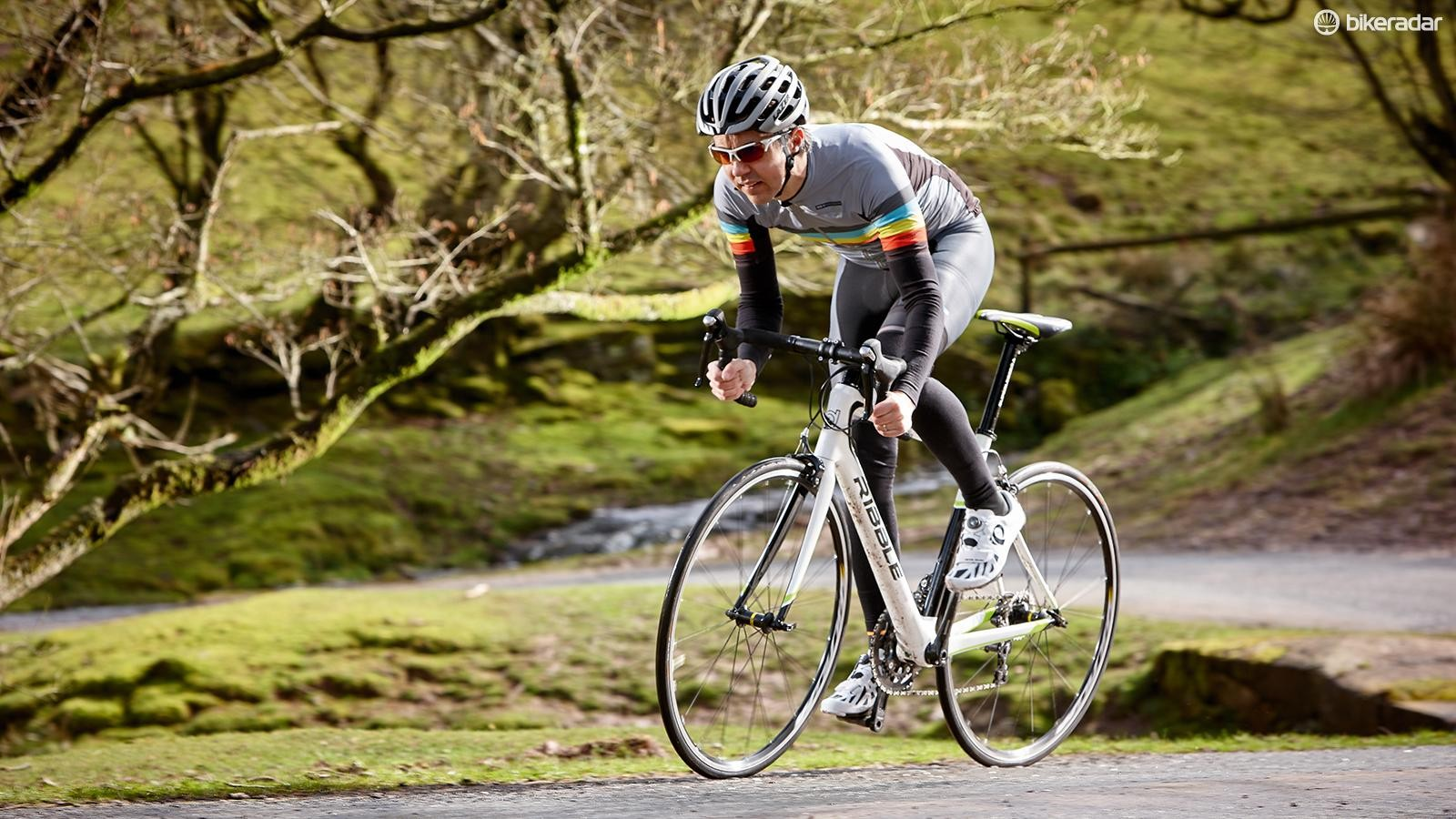 If you're new to road bikes then the Evo Pro will feel light, lively and exciting