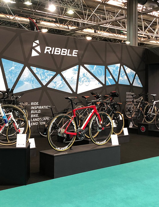 The new Ribble range was revealed at The Cycle Show in Birmingham, UK
