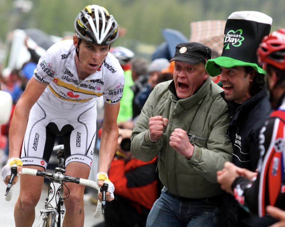 Riccardo Ricco stirs up fans in the Giro.