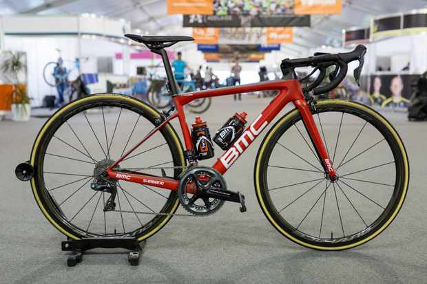 Richie Porte is once again aboard a Teammachine SLR01