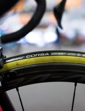 Quite a lot of the peloton is riding Vittoria Corsa tubulars this year