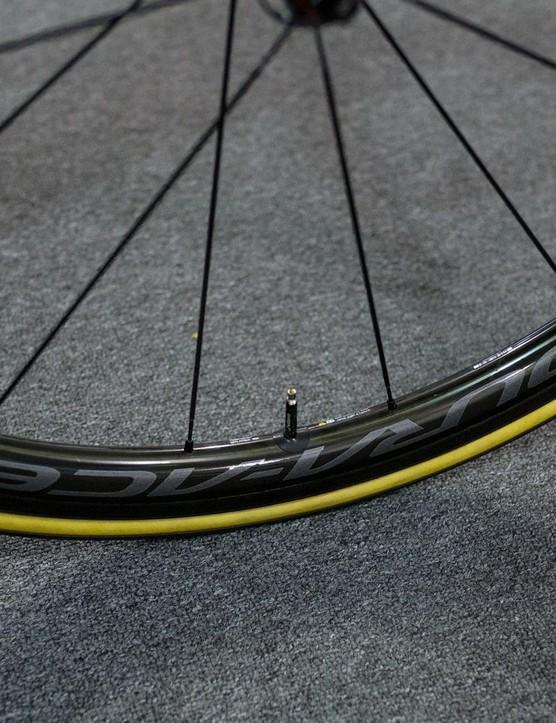 Porte's wheel of choice is the C40