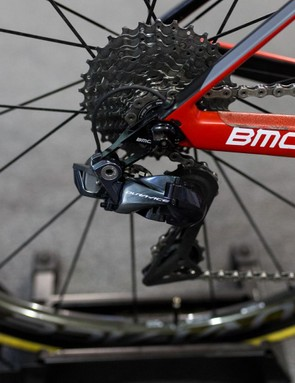 BMC is one of the six teams that Shimano provides full groupsets to