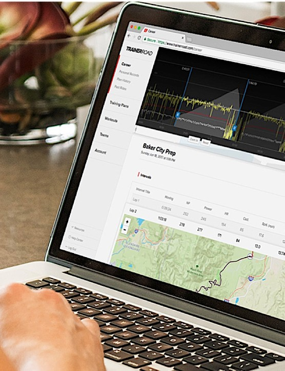 TrainerRoad's new Performance Analytics tracks PRs and training stress