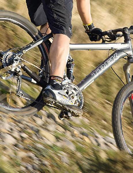 Full suspension speed technique