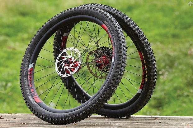 Ridge's Pro Carbon Wheelset