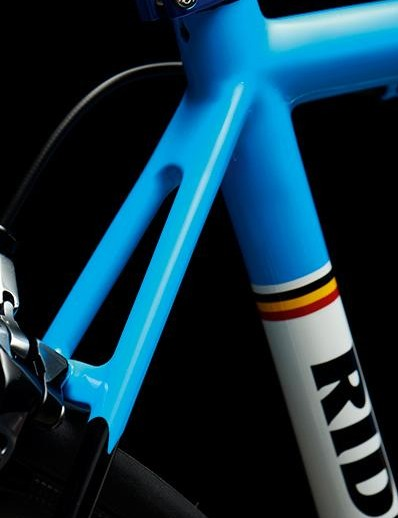 Ridley's Customizer lets you choose from numerous frame, logo and detail colours as well as a matt or gloss finish