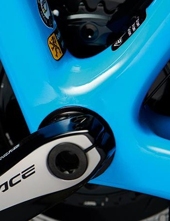 The Ridley Helium RS Custom comes with Shimano's high-end Dura-Ace groupset