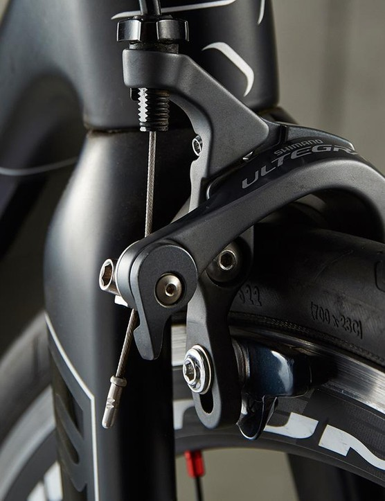 Shimano's Ultegra brakes are very similar to Dura-Ace…