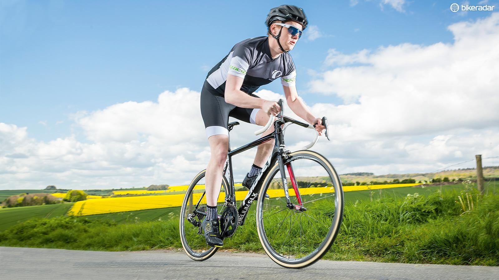 Increasing pace needs a mere thought and increase of pressure on the pedals