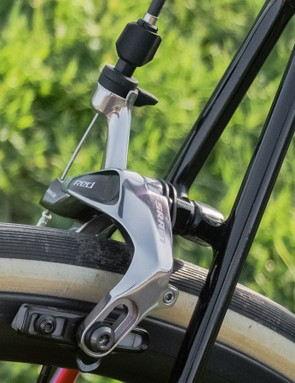 The pencil-thin seatstays should aid rear end comfort