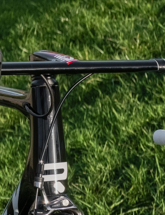 The colour-matched cockpit integrates pleasingly with the frame