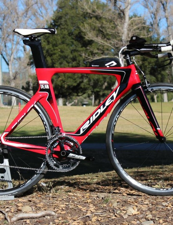 The new 2016 Ridley Dean was designed as a user-friendly tri bike