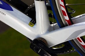 The Orion's bottom bracket area is massively overbuilt allowing every ounce of power channelled through.