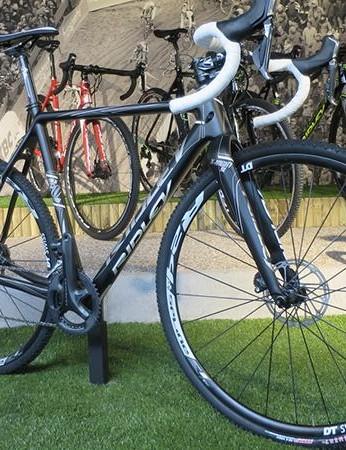 Ridley X-Night SL disc Ultegra is the Belgian brand's premium CX bike