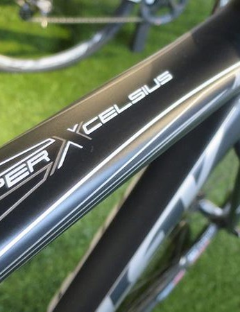 The X-Night SL features much bolder graphics than the rest of the Ridley range