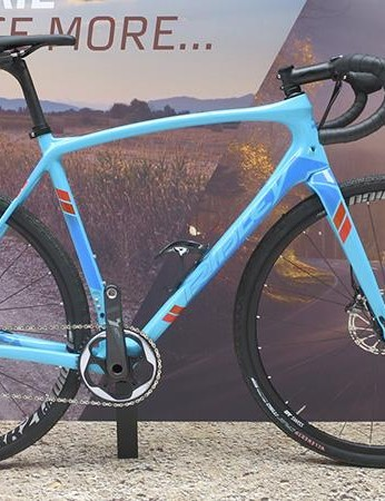 Ridley X-Trail Carbon Force 1 is Ridley's take on the all-road-road-machine