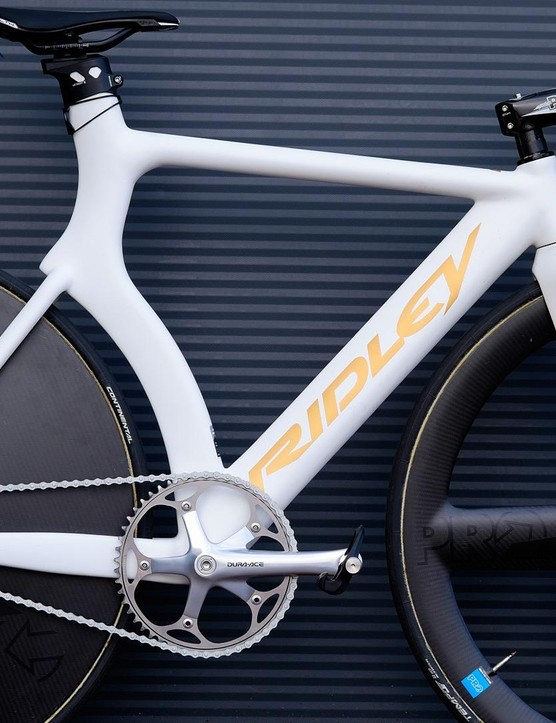 I think this might just be the nicest looking track bike we've featured on site
