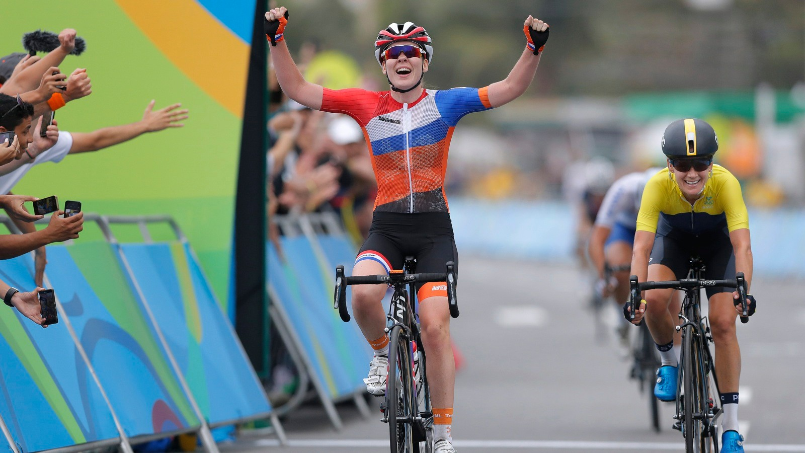 Anna van der Breggen won the Olympic road race on a Liv bike — but you won't hear Giant talking about it during the Olympics