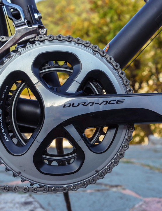 Dura-Ace certainly isn't out of place on Ritchey's Break-Away Carbon