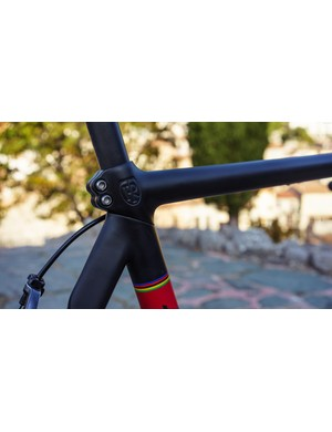 The top tube / seat tube / seat clamp / frame clamp isn't exactly bulky