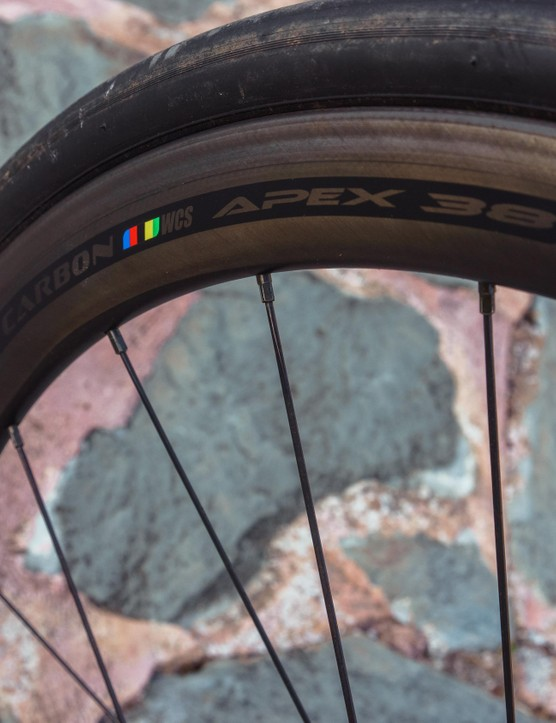 Ritchey Carbon WCS Apex 38 wheels are fast, light and have a hint of speed-sustaining aero profiling