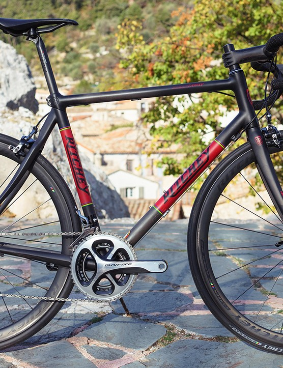 The Ritchey Breakaway lets you split your bike into a more compact package for transport
